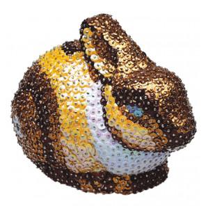Заяц 3D Набор для декорирования фигуры пайетками 3D-05