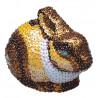 Заяц 3D Набор для декорирования фигуры пайетками
