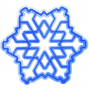 Снежинка Форма для печенья и пряников В39