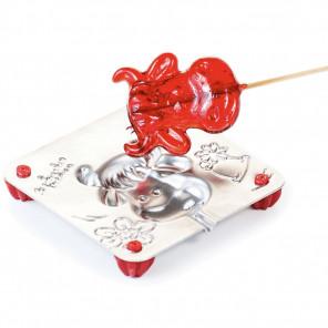 Коровка Форма для изготовления леденцов, конфет Л0052