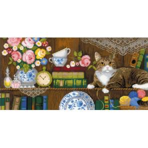 Домашний уют Панно/2 подушки Набор для вышивания Риолис 1815