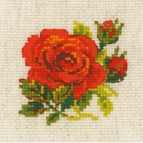 Розочка Набор для вышивания Риолис 1843