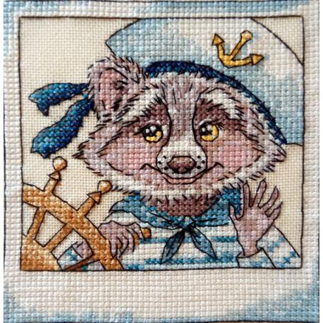 Морской волк Набор для вышивания Neocraft РЗ-30
