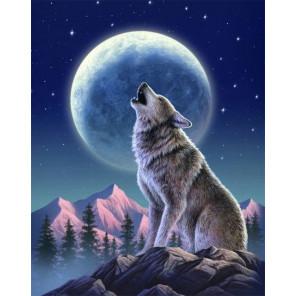 Лунный страж Алмазная вышивка мозаика Гранни AG2336