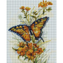 Бабочка Алмазная вышивка мозаика Белоснежка