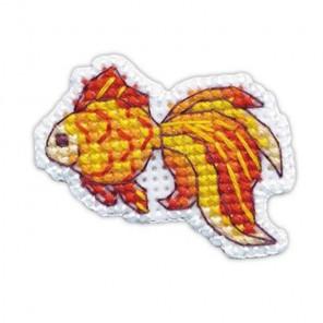 Рыбка Значок Набор для вышивания Овен 1225