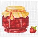 Клубничное варенье Набор для вышивания Овен
