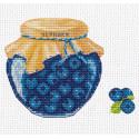 Черничное варенье Набор для вышивания Овен 1231