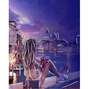 Венецианский бриз Картина по номерам люминесцентная LPK33058