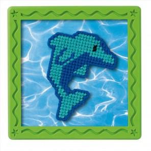 Голубой дельфин Набор для вышивания Гобелен Dimensions