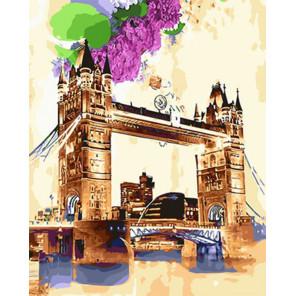 Акварельный мост Раскраска картина по номерам на холсте Z-GX29116