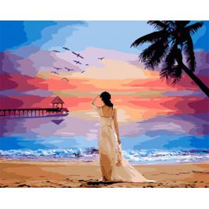 Остров мечты Раскраска картина по номерам на холсте Z-GX29454