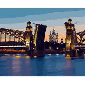 Разводной мост Раскраска картина по номерам на холсте Z-GX29480