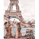 Подружки в Париже Раскраска картина по номерам на холсте Z-GX30103