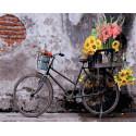 Ретро велосипед Раскраска картина по номерам на холсте Z-GX30798