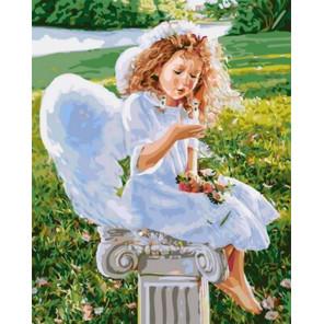 Сказочный ангел Раскраска картина по номерам на холсте Z-GX31186