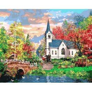 Разноцветный пейзаж Раскраска картина по номерам на холсте Z-GX31561