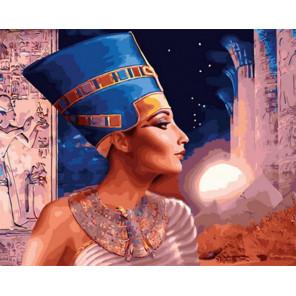 Нефертити Раскраска картина по номерам на холсте Z-GX31600