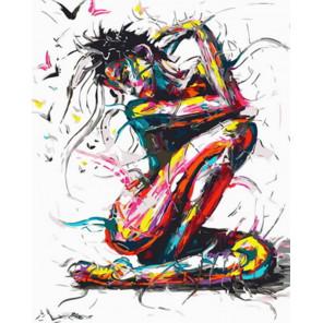 Радужная женственность Раскраска картина по номерам на холсте Z-GX31626