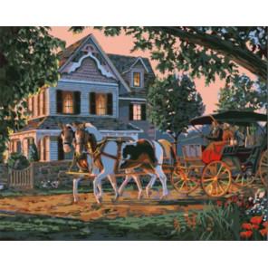 Милый дом Раскраска картина по номерам на холсте Z-GX8478
