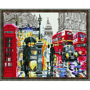 Любовь к городу Алмазная вышивка мозаика на подрамнике