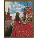 Следуй за мной. Красная площадь Алмазная вышивка мозаика на подрамнике