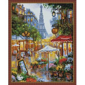 Улица в Париже Алмазная вышивка мозаика на подрамнике