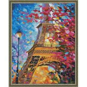 Эйфелева башня Алмазная вышивка мозаика на подрамнике