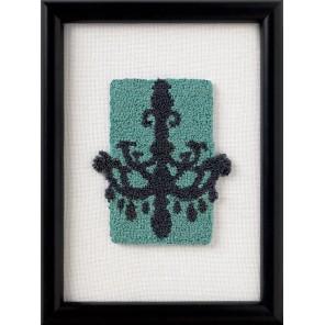 Набор для вышивания: Канделябр, продергивание