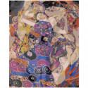 Густав Климт. The Virgin 80х100 Раскраска картина по номерам на холсте