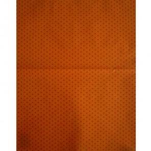 Звездочки на оранжевом Бумага для декопатча Decopatch