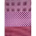Полоска/горох/клетка розовые Бумага для декопатча Decopatch
