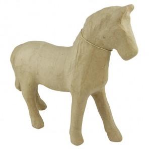 Лошадка Фигурка средняя из папье-маше объемная Decopatch