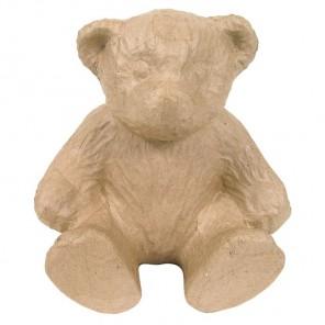Медвежонок Фигурка средняя из папье-маше объемная Decopatch