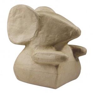 Мышь Фигурка средняя из папье-маше объемная Decopatch