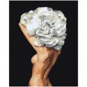 Цветочная голова Раскраска картина по номерам на холсте