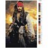 Пираты Карибского моря Раскраска картина по номерам на холсте