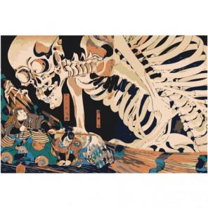 Смерть Раскраска картина по номерам на холсте