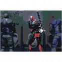 Deadpool Раскраска картина по номерам на холсте