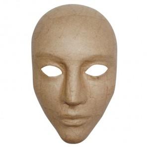 Лицо Маска из папье-маше объемная Decopatch