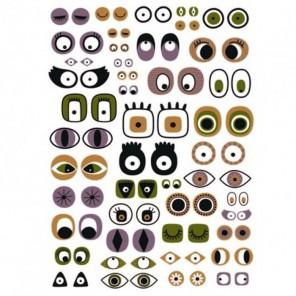 Глаза Бумага для декопатча Decopatch