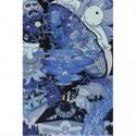 Коллаж Рик и Морти Раскраска картина по номерам на холсте