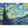 Звездная ночь. Винсент Ван Гог Раскраска картина по номерам Schipper (Германия)