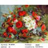 Разнообразие цветов Раскраска картина по номерам на холсте