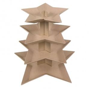 Ваза-ёлка Заготовка из папье-маше объемная Decopatch