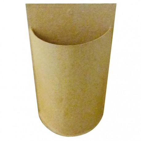 Карандашница на подвесе Заготовка из папье-маше объемная Decopatch