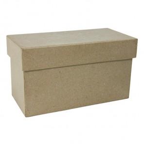 Прямоугольная коробка Заготовка из папье-маше объемная Decopatch
