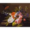 Изящный букет Раскраска картина по номерам на холсте