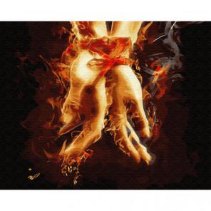 Рука к руке Раскраска картина по номерам на холсте