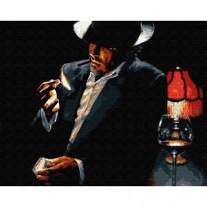 Джентльмен Раскраска картина по номерам на холсте